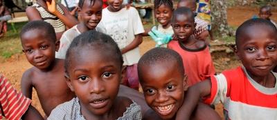 Les om vårt arbeid med frivillge i Sierra Leone