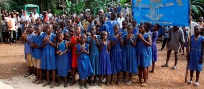 Du kan bli frivillig i Sierra Leone innen undervisning